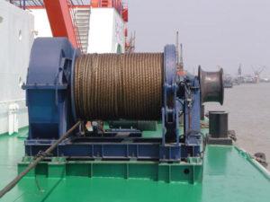 Cabrestante de cuerda del ancla de alta calidad