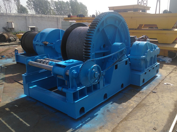 Cabrestante de 30 toneladas a Nigeria