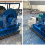 Cabrestante eléctrico de 12 toneladas para nuestros clientes de Indonesia