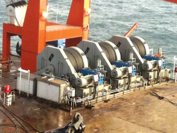 Treuil offshore de qualité