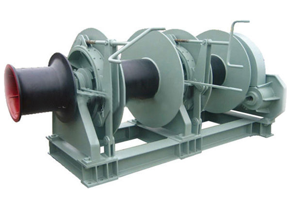 Quality double drum mooring winch