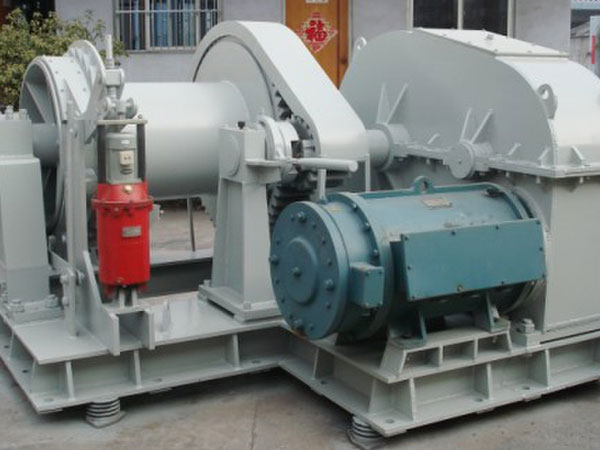 Electric single drum towing winch for sale