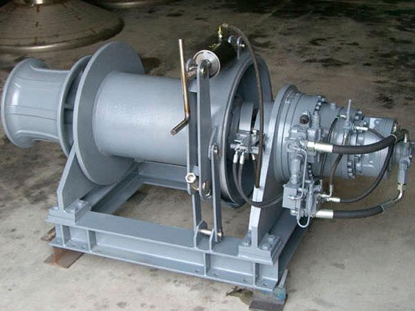 Treuil d'amarrage hydraulique à vendre