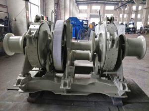 Treuil d'ancre hydraulique à vendre