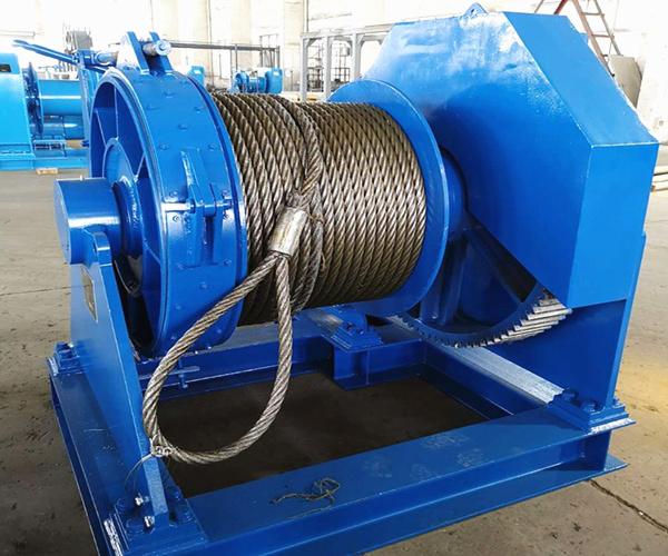 Guindeau d'amarrage hydraulique de haute qualité à vendre