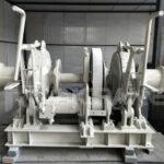 Treuil d'ancrage hydraulique pour notre client Australien
