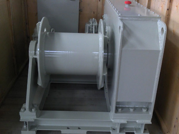 Winch tambatan listrik 5 ton dijual