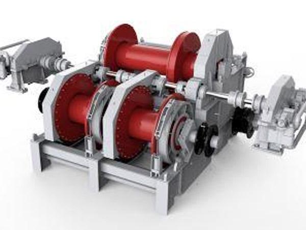 Jenis air terjun jangkar penanganan towing windlass dengan kualitas tinggi