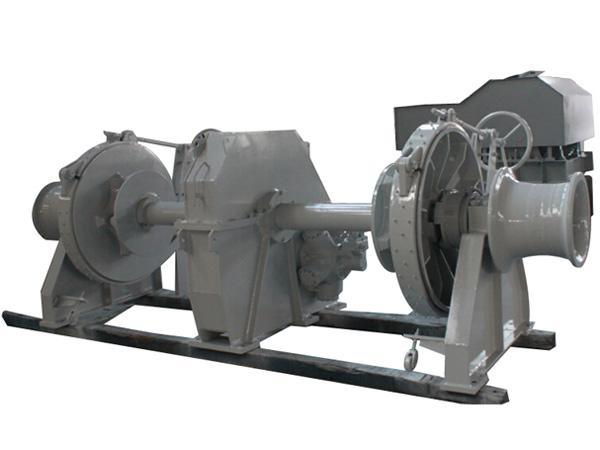 Double drum hydraulic jangkar winch dengan harga yang wajar