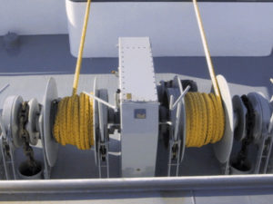 anchor mooring boat winch dijual