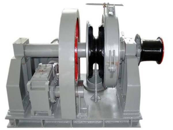 Electric single gypsy winch for anchoring work