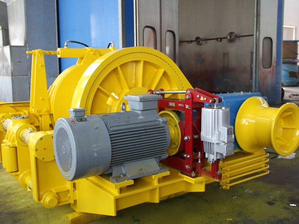 Winch towing listrik disediakan oleh Aimix dengan kualitas yang baik
