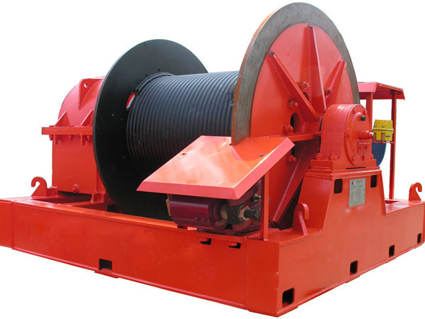 Port winch from Aimix Group