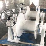hydraulic mooring winch without warping head