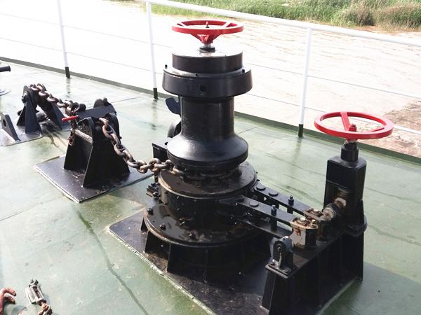 capstan jangkar winch dengan kualitas tinggi