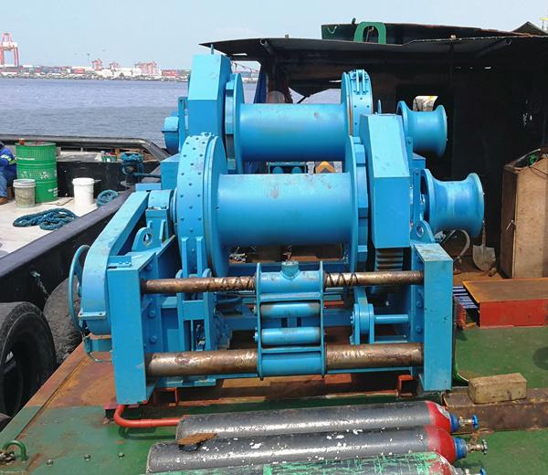 winch laut hidrolik dijual