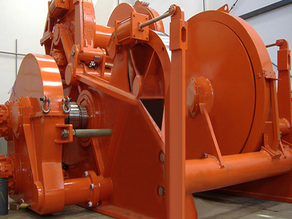 30 ton hydraulic marine winch from Ellsen