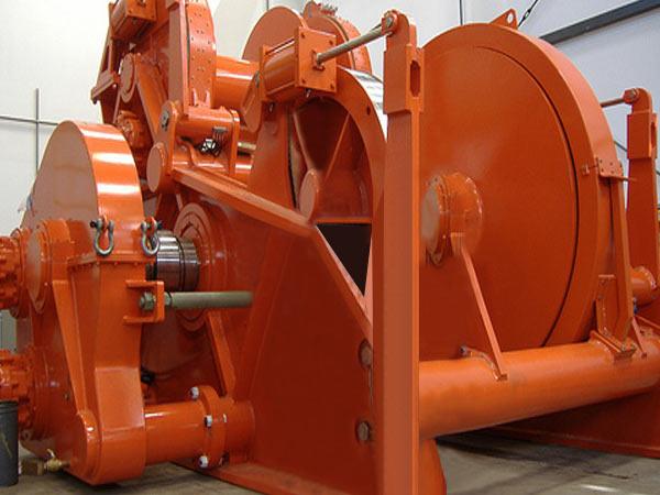 30 ton hydraulic marine winch from Ellsen