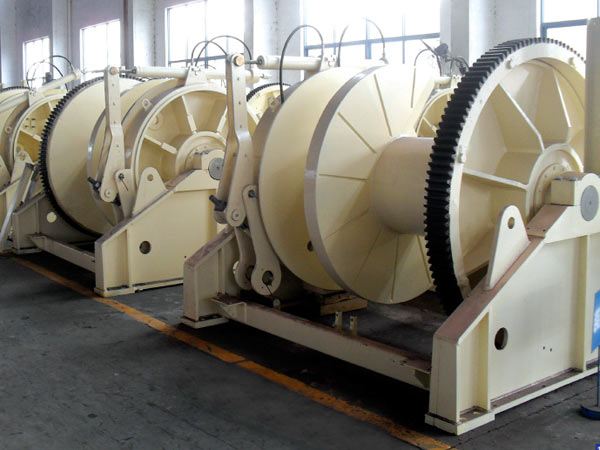 50 ton hydraulic marine winch for sale