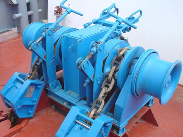 High quality anchor chain winch