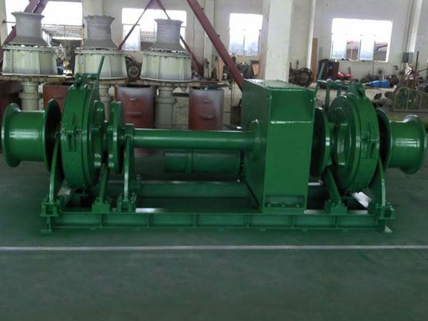 Double gypsy electric winch with good quality and reasonable price