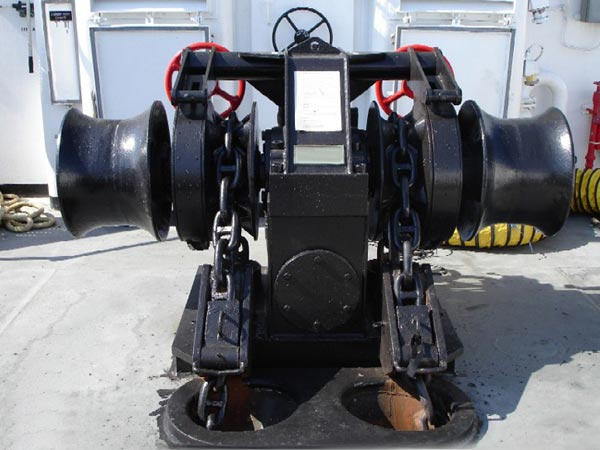 Ellsen double gypsy vessel windlass