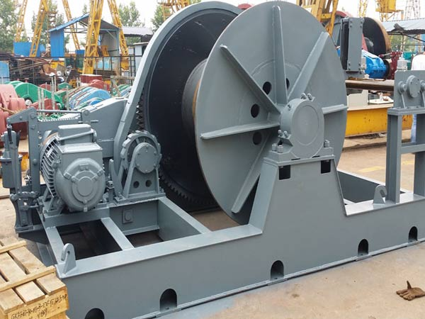 Ellsen electric towing winches for sale