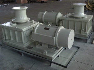 Horizontal capstan for sale from Ellsen