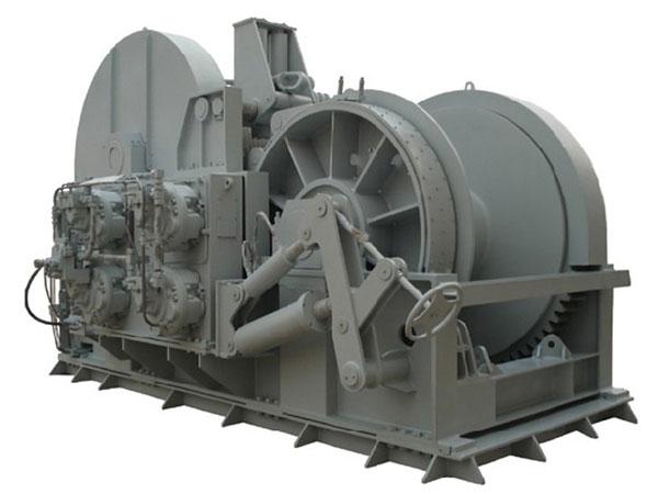 Hydraulic tugger winch from Ellsen
