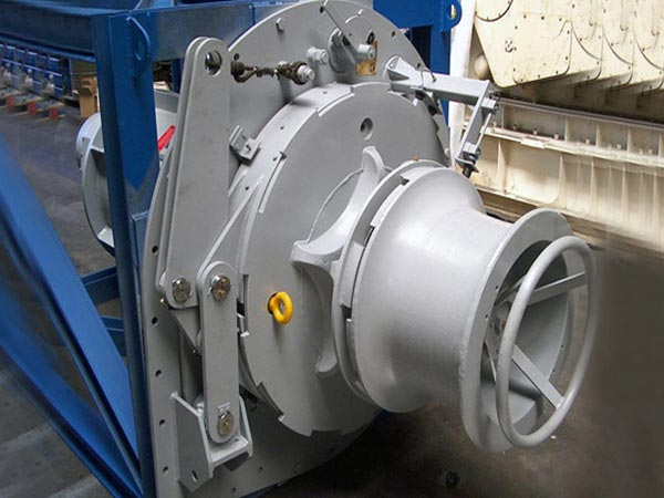 Hydraulic vertical capstan for sale