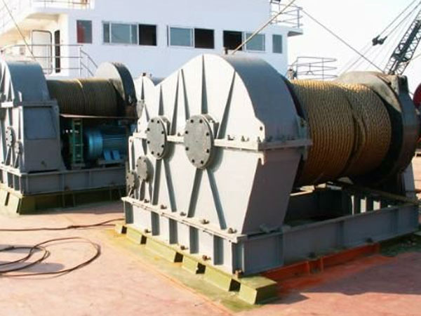 Port windlass with good quality for sale
