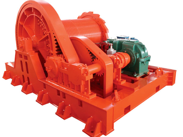 Slipway winch provided by Ellsen with good price