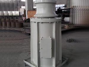 Vertical capstan supplied by Ellsen Company
