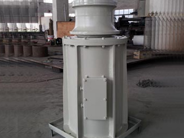 Vertical capstan supplied by Ellsen Company