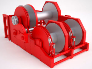 Anchor handling towing winch with high quality