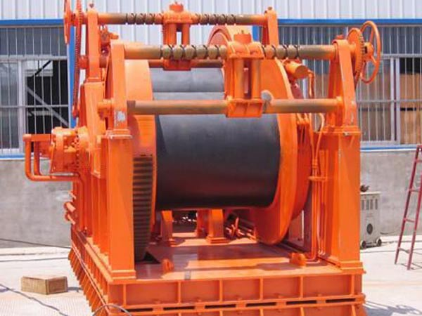 high quality anchor handling towing winch