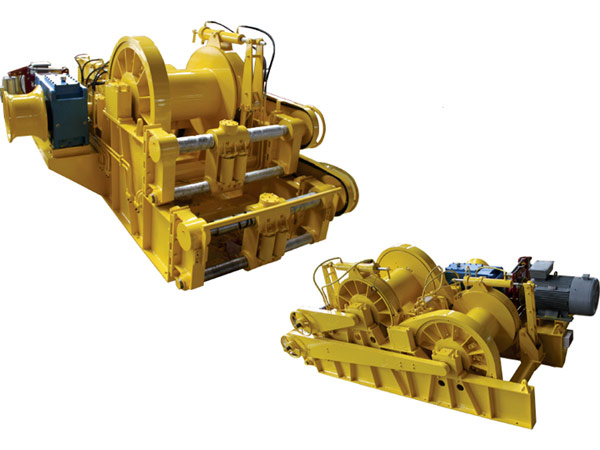 Anchor handling towing winch for sale