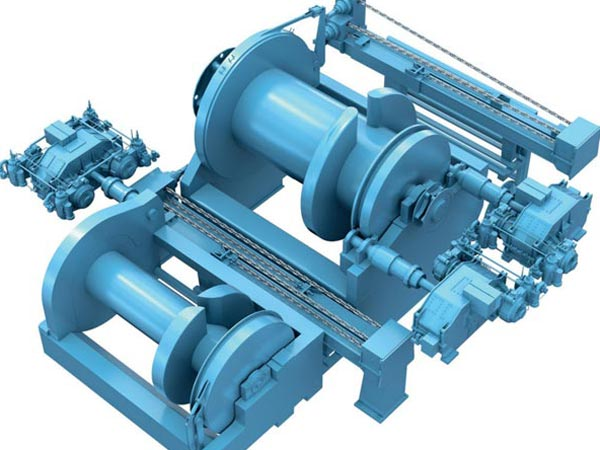 Anchor handling winch with high quality.