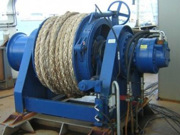Ellsen anchor rope winch