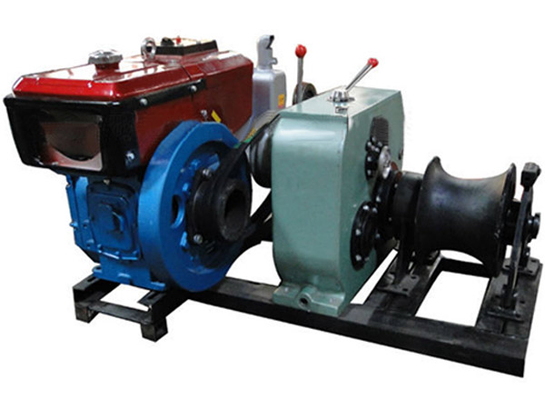 Diesel marine winch for sale