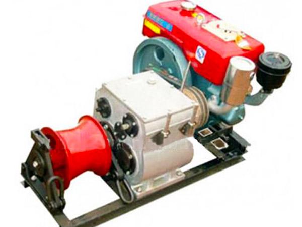 Diesel Vessel Winch