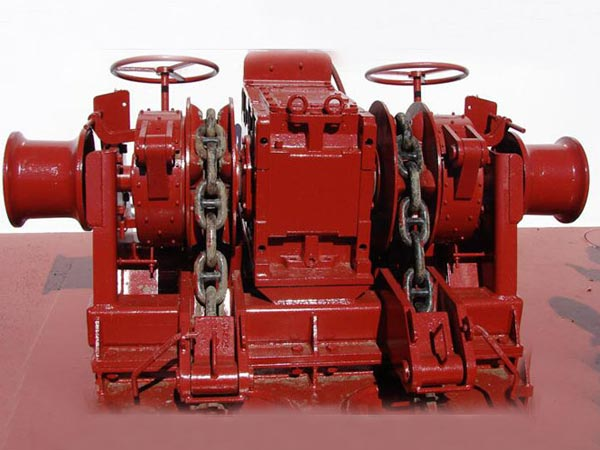 Anchor chain winches for sale