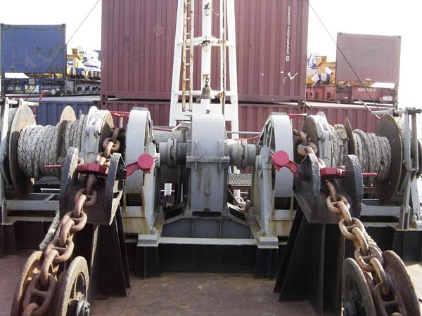Double gypsy combine winch for sale