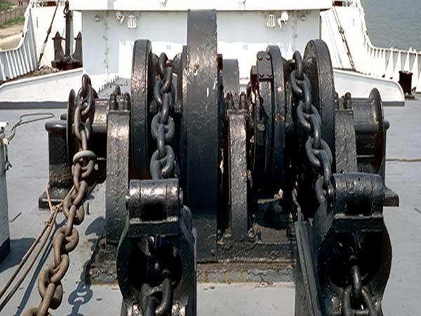 Double gypsy ship winch for sale