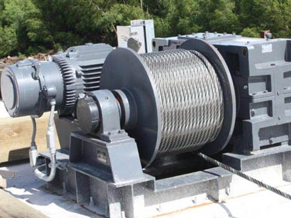 Ellsen barge winch with high quality