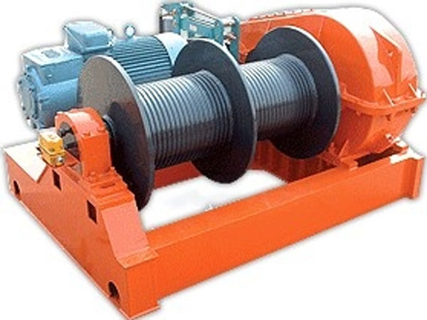 Quality double drum winch