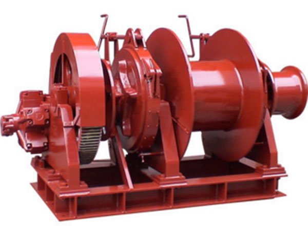 Ellsen hydraulic anchor mooring winch