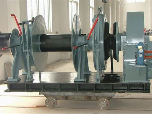 Hydraulic anchor winch from Ellsen for sale