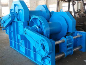 Hydraulic deck winch with top quality