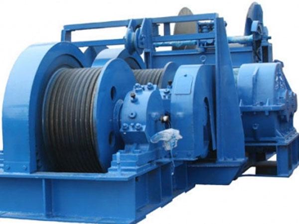 Ellsen hydraulic slipway winch